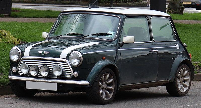 Classic Models Of Mini Cooper